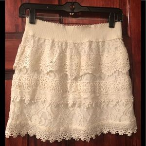 Altar'd State Lace skirt.